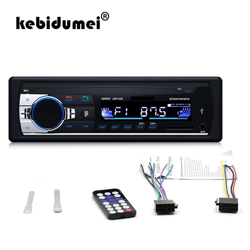Unterhaltungselektronik Jsd-520 Stereo Radio Player Digital Bluetooth Mp3 Fm Stereo Radio Player Audio Usb/sd Mit In Dash Aux Eingang Auto Auto Radio StraßEnpreis