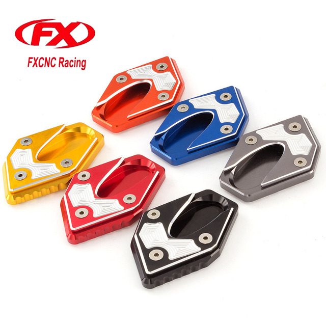 Aluminum Motorbike Motorcycle Side Stand Plate Kickstand Extension Pad Enlarger For SUZUKI GSXR250R GSXR 250R  sc 1 st  AliExpress.com & Aluminum Motorbike Motorcycle Side Stand Plate Kickstand Extension ...