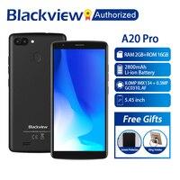 BLACKVIEW A20 Pro Phone 2GB 16GB Smartphone 5.5 18:9 Full Screen MTK6739 Quad Core 8MP Dual Back Camera Android 8.1 Fingerprint