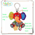Baby toy 2015 new  rattles mamas papas stroller music toys baby toys 0-12 months  musica teether rag doll soft rattle bed bell