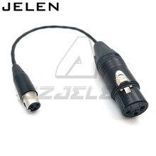 Ta3f 3pin female naar XLR 3pin vrouwelijke voor Geluid Apparaten 688/788, geluid Apparaten XL2 TA3 F naar XLR Kabel Adapter Kabel
