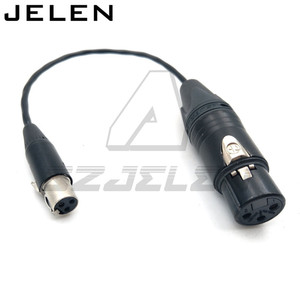 Image 1 - Ta3f 3pin female naar XLR 3pin vrouwelijke voor Geluid Apparaten 688/788, geluid Apparaten XL2 TA3 F naar XLR Kabel Adapter Kabel
