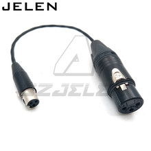 Ta3f 3pin female to XLR 3pin  female for Sound Devices 688/788 , Sound Devices XL2 TA3 F to XLR Cable Adapter Cable