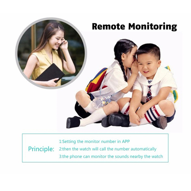 Anti Lost Q50 OLED Child GPS Tracker SOS Monitoring Positioning Phone smart Kids GPS baby Watch Compatible IOS & Android VS q90