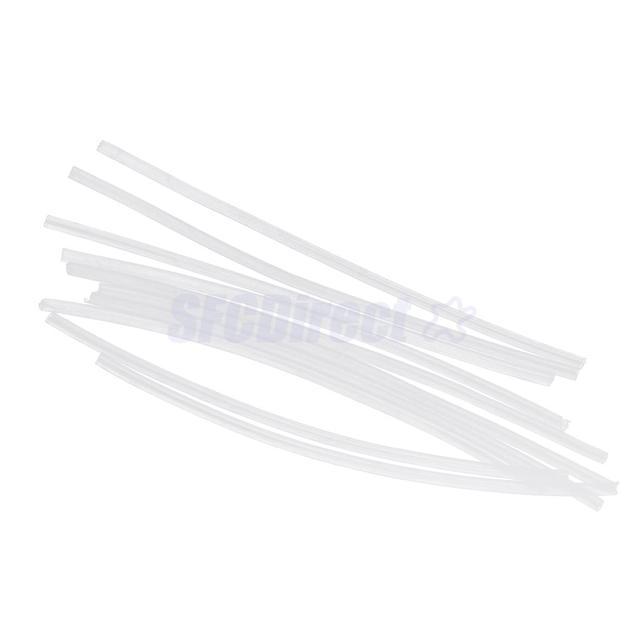 50pcs PVC Rig Tube Karpfenangeln Shrink Rig Hülse Hook Line Connector