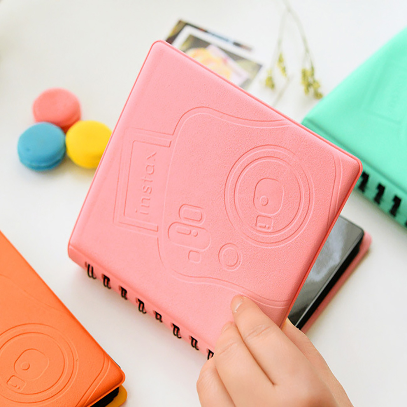 68 Pockets Book Album for Fujifilm Instax instant Mini 9 8 7s 70 25 50s 90 Mini Films 3 inch Photo paper