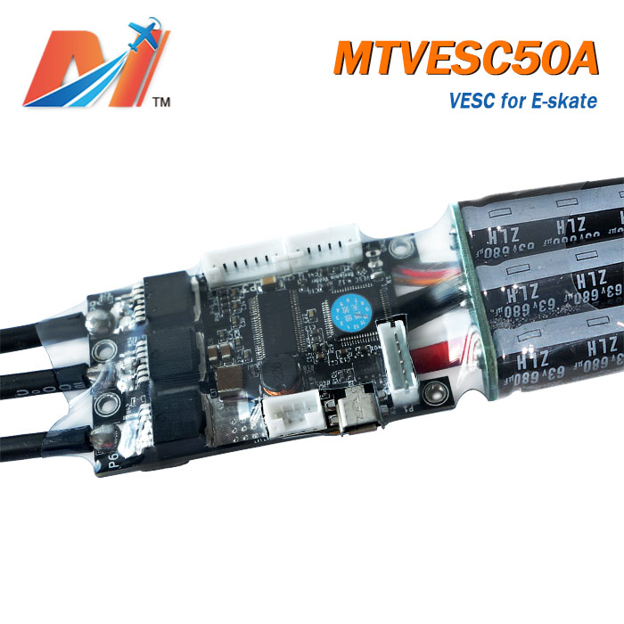 US $89 9 |Maytech diy e bike kit and e bike motor speed controller 50a  super esc based on vesc for electric scooter toys-in Propulsion from  Consumer