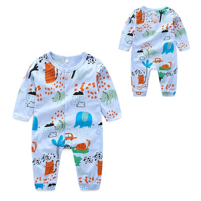 07f7f4c97 Baby Cartoon Jumpsuit Jumpsuit New Autumn Casual Fashion Children  s ...