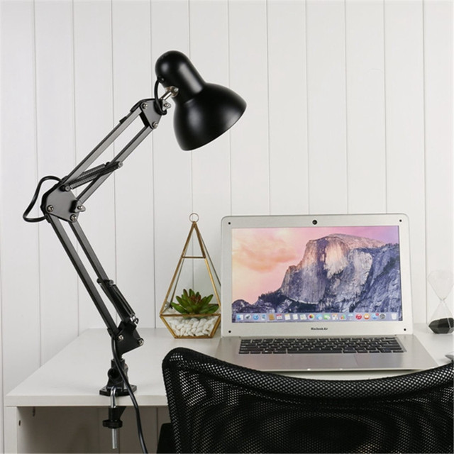 Flexible Office Metal Table LED Bulb Lamp