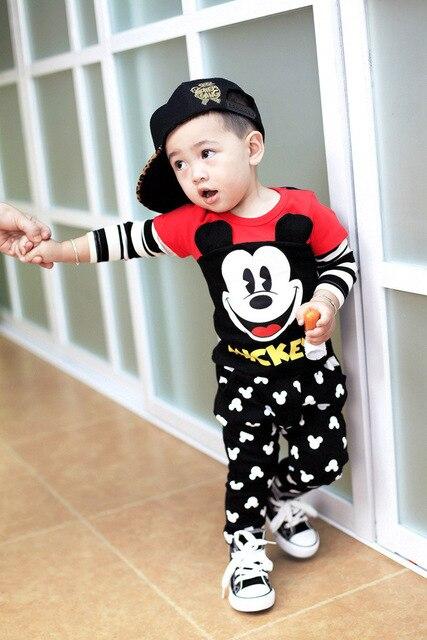 3ef39ac7a129b Fashion Baby Clothes for Newborns Children's Clothes for Boys Roupas  Infantil Menino Sport Suit Infantil role x Boy