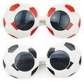 Partido de la Copa mundial de Fútbol Los Aficionados Al Fútbol Divertido de La Novedad gafas de Sol Divertido Loco Traje Gaga Gafas de Regalo