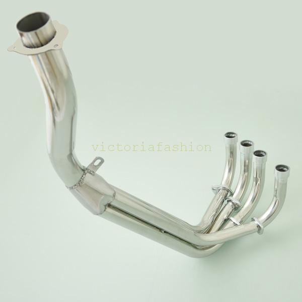 Wotefusi Downpipes Exhaust Pipe Manifold Header For Honda CBR 250 MC22 1990 1994 1991 1992 1993