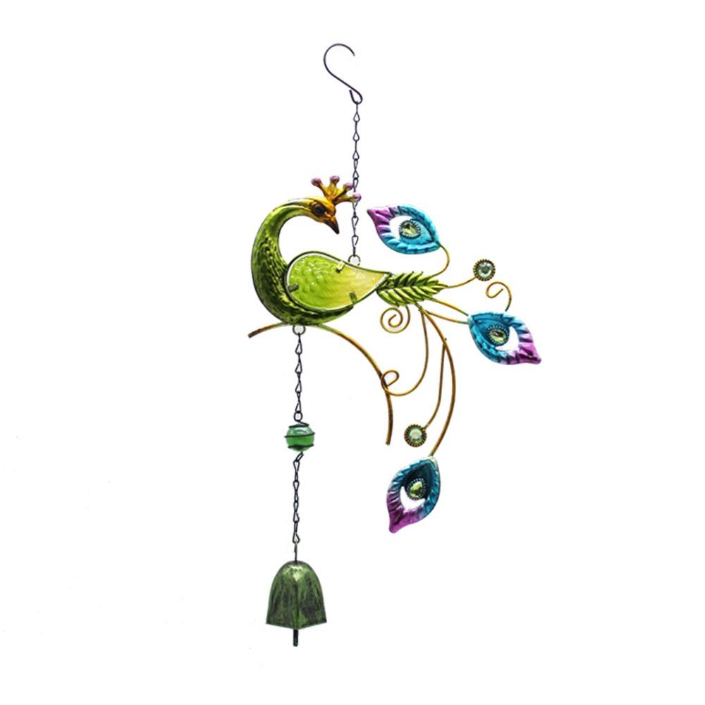 Colourful Metal Peacock Garden Ornament Statue Christmas Wedding Birthday Gift