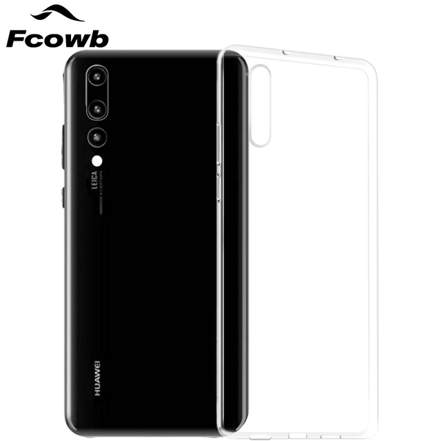 promo code dcf4d 32528 US $1.89 |FCOWB For Huawei P20 Lite Case Huawei P20 Pro Silicon Case High  Quality Transparent Clear Soft TPU Protector Back Cover Case-in Fitted  Cases ...