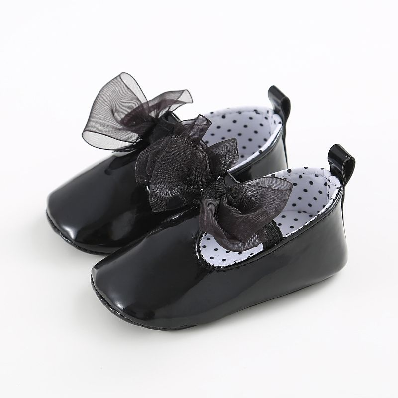 Hot Fashion Baby Girls Princess Shoes Kids Dresses Flats Bowknot Baby Girls Shoes For First Walkers LE7