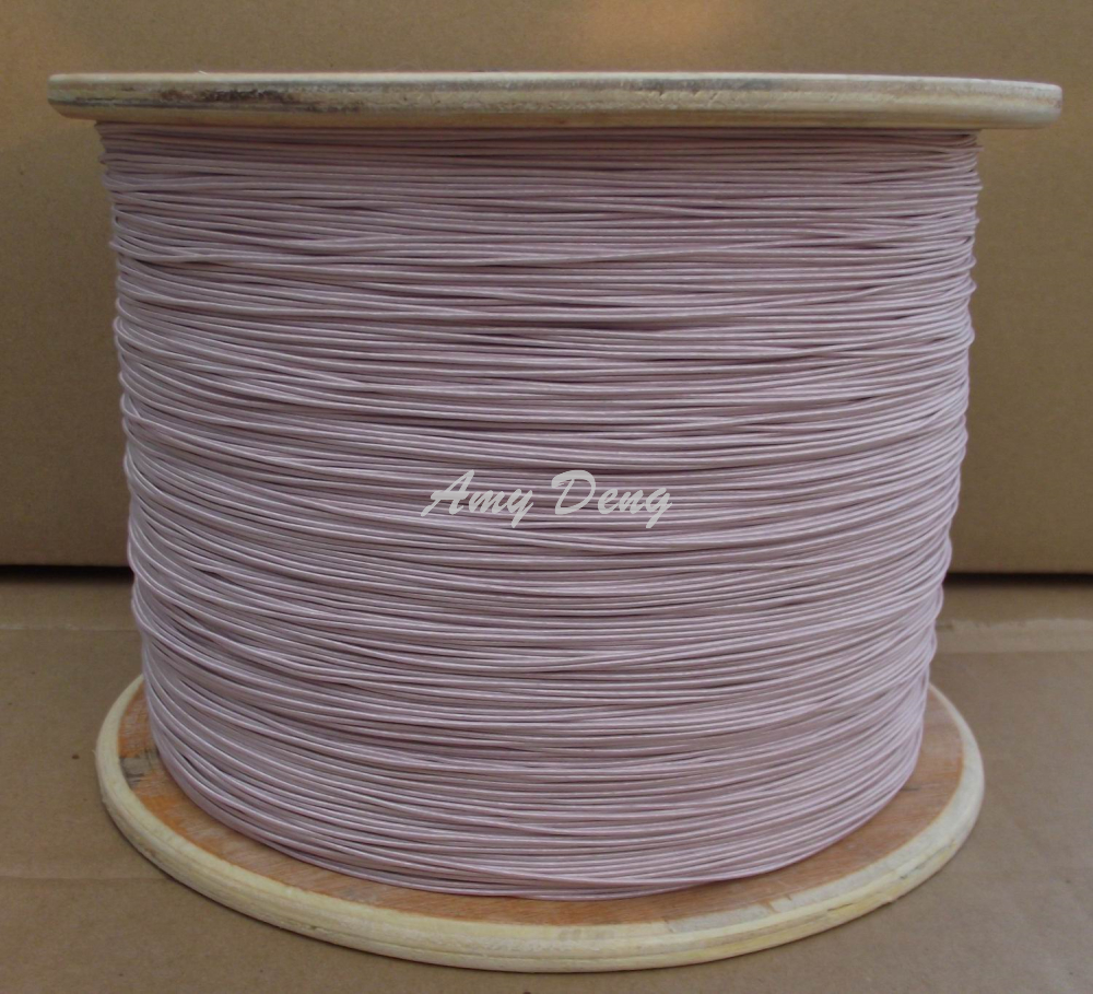 50 meters/lot Free shipping 0.1×200 shares its antenna Litz strands of polyester envelope is sold by the metre copper wire