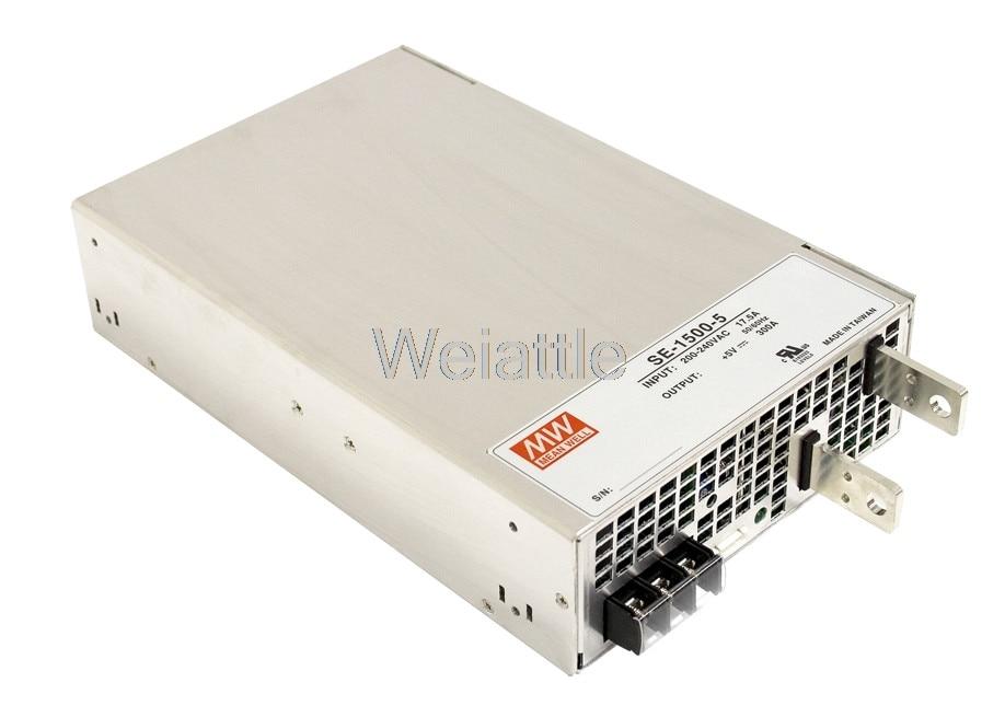 MEAN WELL original SE-1500-27 27V 55.6A meanwell SE-1500 27V 1501.2W Single Output Power SupplyMEAN WELL original SE-1500-27 27V 55.6A meanwell SE-1500 27V 1501.2W Single Output Power Supply