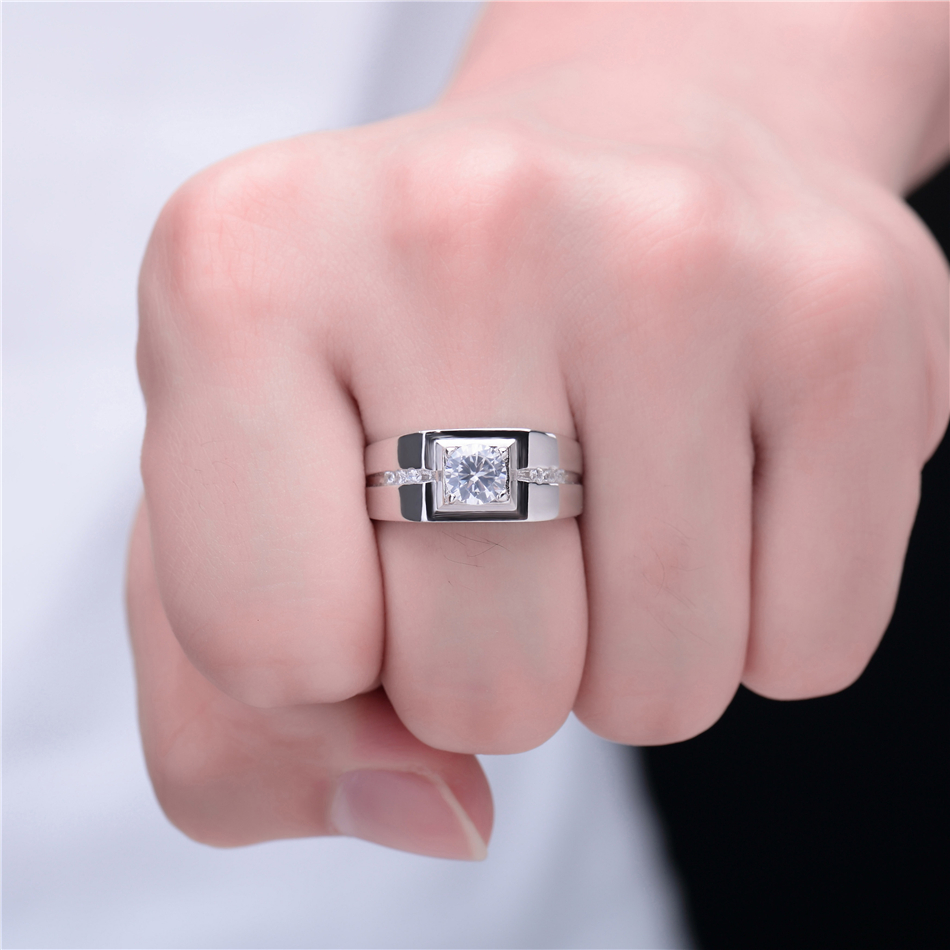 LiHong 100% 925 Sterling Silver Ring AAA Zircon CZ Engagement Rings ...