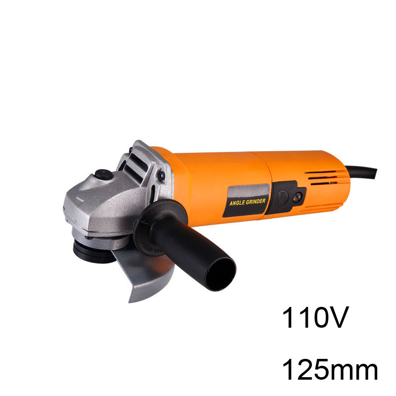 Multi-functional Electric Angle Grinder Power Tool 110V 60HZ 850W 125MM Electric Polisher Polishing & Cutting electric drill adapter angle grinder polisher connecting 10mm triangle shank connector fit cutting polishing disc saw blade