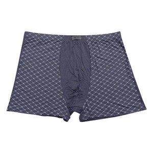 Image 4 - 남자 95% 대나무 섬유 속옷 통기성 망 권투 팬티 남자 속옷 패션 속옷 플러스 크기 9xl, 11xl 5 개/몫