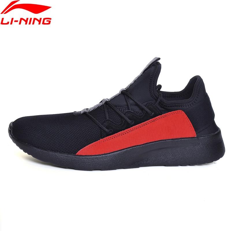 Li-ning hommes Entrylist DX200 marche Sport chaussures doublure Sport vie Fitness baskets léger confort Sport chaussures GLKM071 YXB103