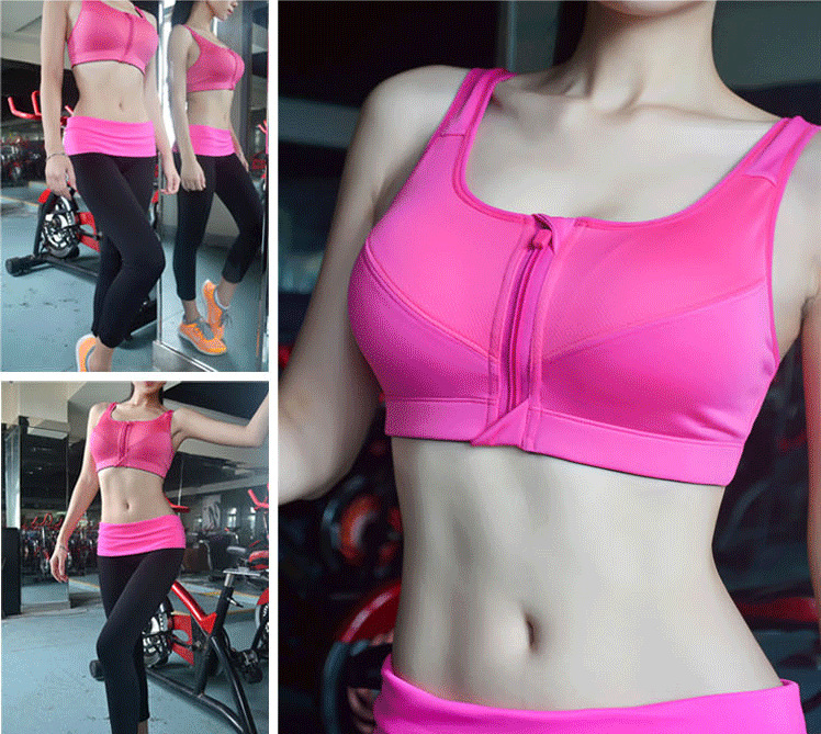 Women's Zipper Sport Bra,Zipper Sport Bra,Sport Bra,Fitness bra,yoga Bra,Push Up bra