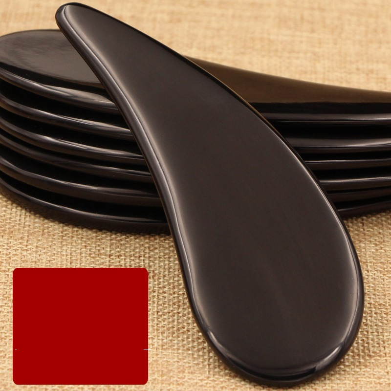 Buffalo Horn Gua Sha Scrapping Massage Board Body Face Eyes Facial Spa Natural Massage Beauty Guasha Board Bar buffalo horn guasha board massage guasha board horn gua sha massage board scraping plate buffalo horn