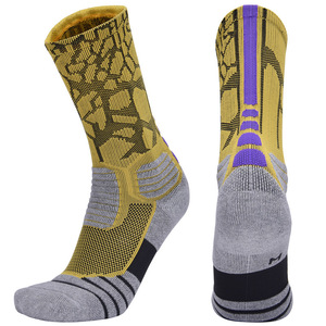 Image 4 - Brothock Professional basketball socks boxing elite thick sports socks non slip Durable skateboard towel bottom socks stocking