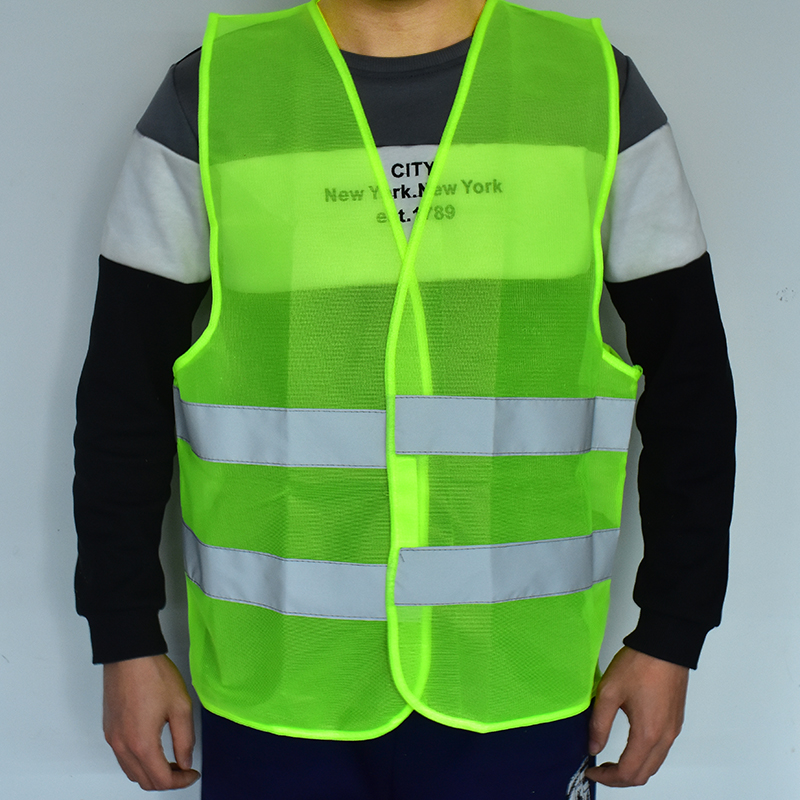 FGHGF New Safety Clothing Visibility Security Safety Vest Jacket Reflective Strips Work Wear Uniforms Clothing Hot Sale  ...