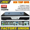 Upgrade 720P Realtime Recording CCTV 4CH AHD H 264 DVR 4 Channel Hybrid HVR NVR SDVR