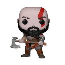 God of War 4 Kratos Action Figures 269 Collection Model Toys 10cm