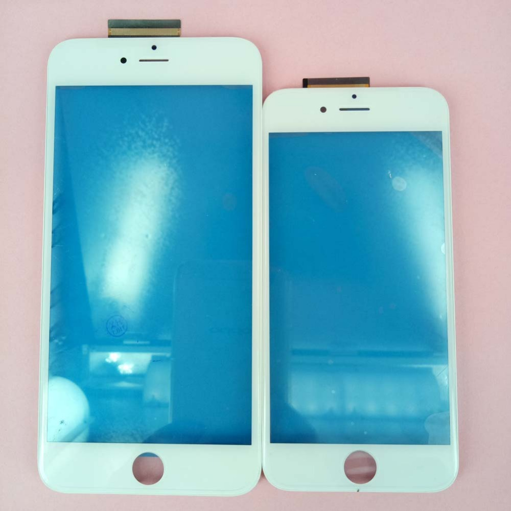 Touch Screen Digitizer For iPhone 6s 6s Plus Glass Panel With Sensor With Middle Frame+Free Tools, Free Shipping&Tracking Number