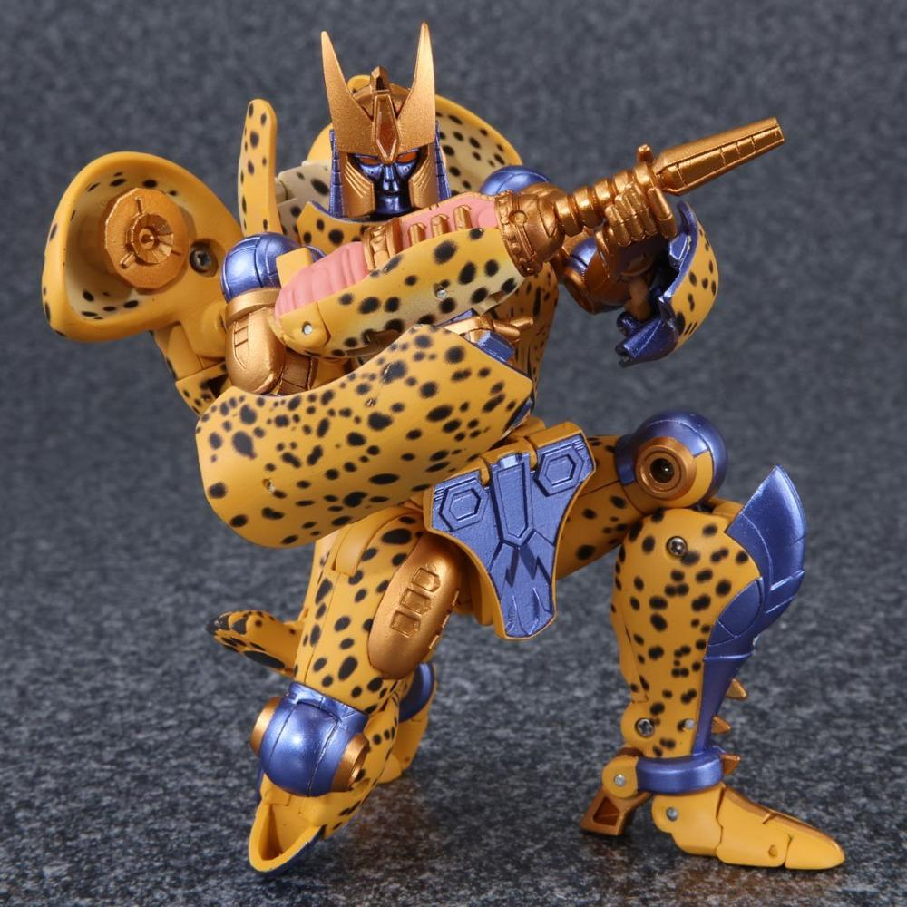 (In Stock ) Toys Beast Wars TOMY MP34S MP34 Black Yellow Panther BW Cheetor Transformation Action Figure