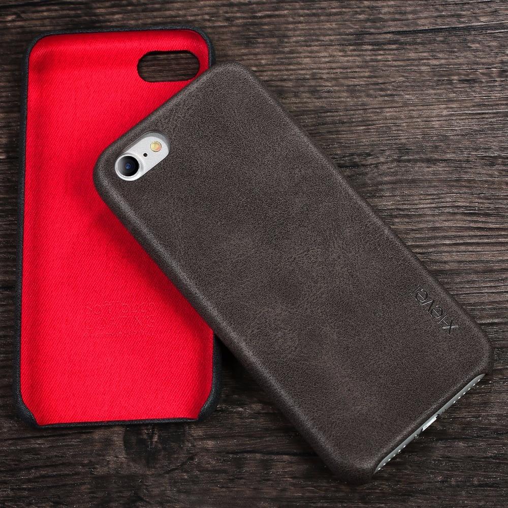 Ρετρό θήκη X-Level για iPhone 7 8 Πολυτελές - Ανταλλακτικά και αξεσουάρ κινητών τηλεφώνων - Φωτογραφία 5