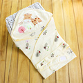 Newborn Baby Swaddle Wrap Blanket Cotton Printed Muslin Flannel Receiving Blankets Babydecke Cotton Cellular Baby Blanket 508021