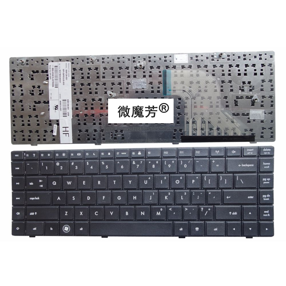 US Black New English keyboard FOR HP For COMPAQ CQ620 CQ621 CQ625 620 621 625 Laptop Keyboard brand new black laptop keyboard 378203 bb1 359087 bb1 for hp compaq nx8220 nc8230 hebrew layout 100