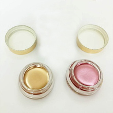 5g Shiny Eyeshadow Glitter Makeup Cosmetics Eyeshadow With Box Metal Copper/rose Gold Birthday Creme Eye Shadow M03053