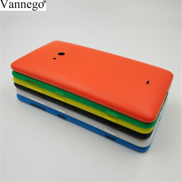 super popular ce388 86a3c US $3.2 |Vannego Original Housing Battery Cover For Nokia lumia 625 Back  Door Case for nokia 625 Replacement Parts four colors available-in Mobile  ...