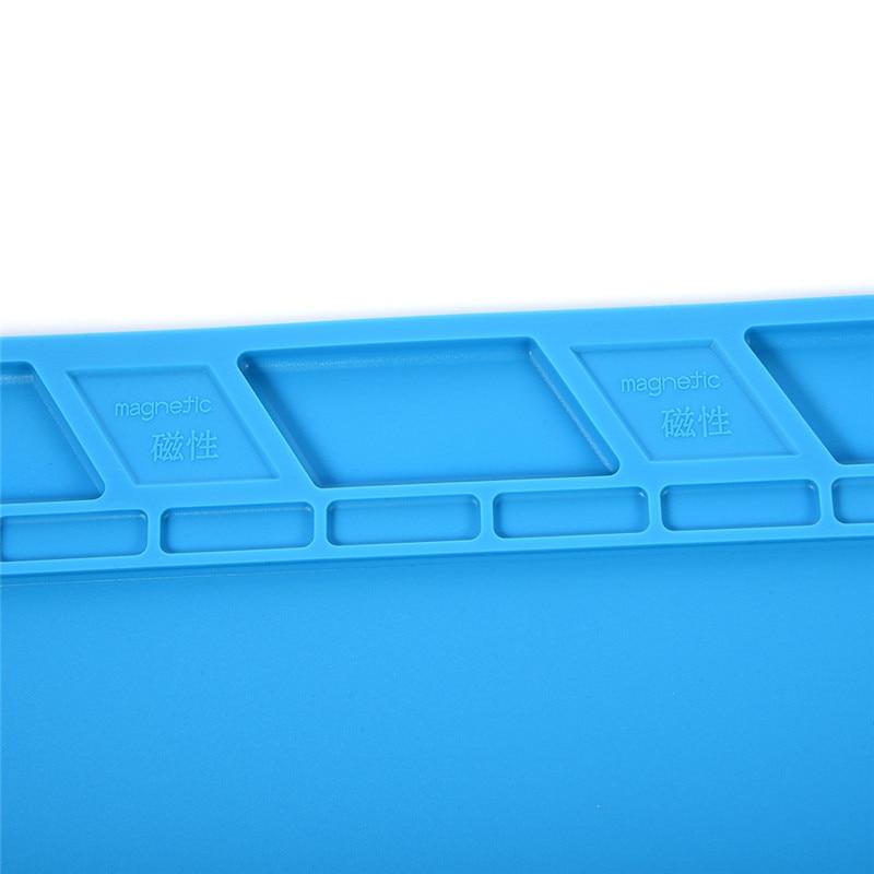 S140 35x25cm Piattaforma di manutenzione per tappetino da scrivania - Attrezzatura per saldare - Fotografia 4
