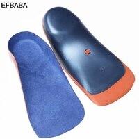 EFBABA Eva Shoe Insole Orthopedic Insoles Flat Feet Arch Support Foot Valgus X Leg Corrective Children
