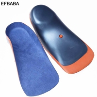 EFBABA Eva Shoe Insole Orthopedic Insoles Flat Feet Arch Support Foot Valgus X Leg Corrective Children