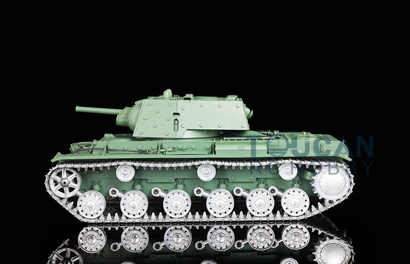 HengLong 1/16 Soviet KV1 RC Tank Metal Road Wheels Smoke 3878