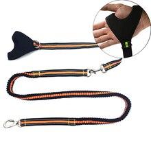 De alta Calidad de mano agarrada Reflectante correa de Perro mascota para Correr Plomo correa de perro Amortiguador fuerte elasticidad correa para perro