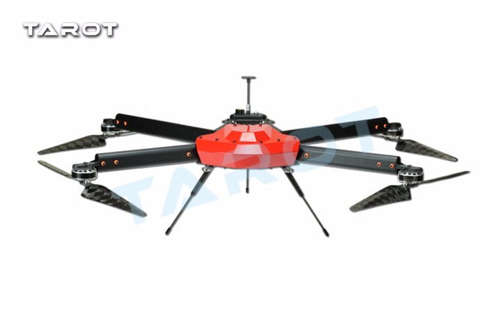 Tarot Peeper I Drone 750mm FPV Quadcopter Frame 4 Axis UAV Phantom UFO with Propeller Motor ESC Power Distributor TL750S 16pcs 8 pairs 10 blade propeller 1045 brushless motor for qav250 dron drones drone frame parts kit fpv quadcopter frame