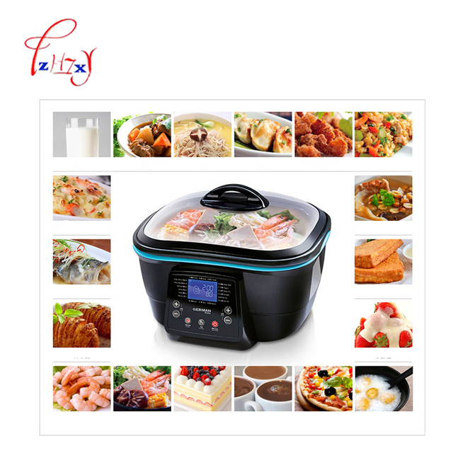 5L Multi-function Electric health pot Electric Cooker Hot Pot/grill/steam/pan fry/deep fry/bake/cake maker food Cooking DFC-818 2