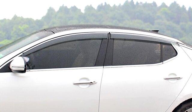Для Kia K5 оптима 2016 2017 окно козырек вентиляционные оттенок / вс / ветер автомобиля - стайлинг