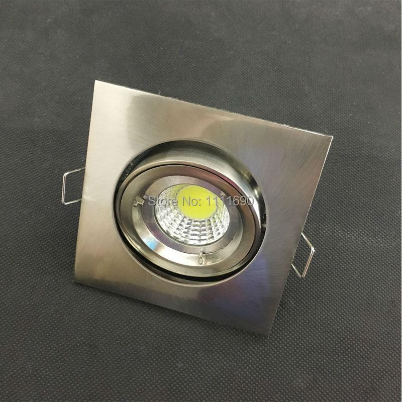 Deckenleuchten 10 Stücke Neue Runde Oder Platz Lampe 3 Watt 4 Watt 5 Watt 9 Watt Led-lampen Mit Gu10 Mr16 Gu5.3 Verwenden Led Decke Licht Für Indoor