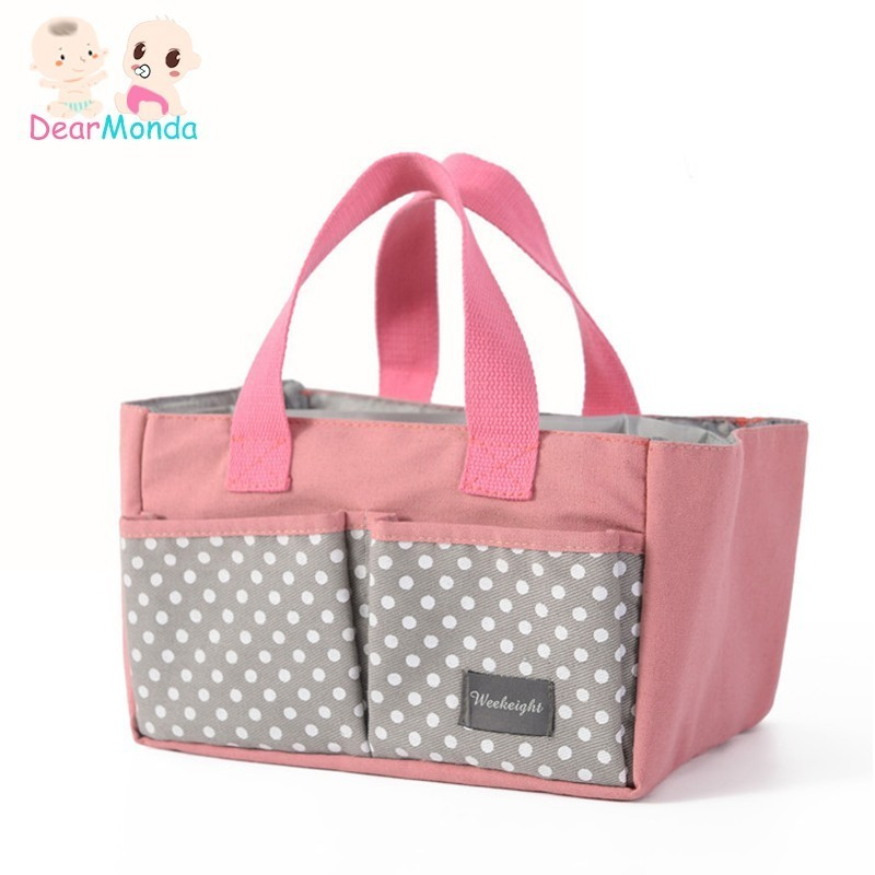 2019 Fashion Mommy Fashion Multifunctional Mummy Bag Baby Diaper Nappy Pram Stroller Hanging Bag Travel Nappy Diaper Bag