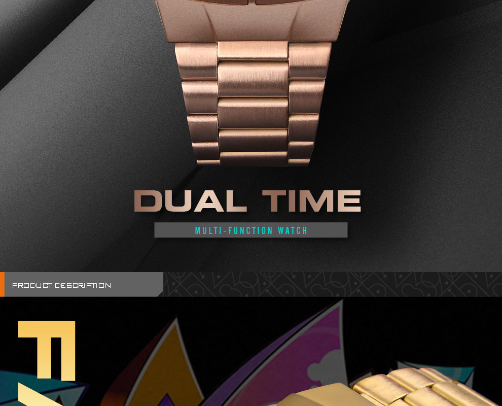 SKMEI Sports Watch Men Digital Watch Alarm Clock Countdown Watch Large Dial Glass Mirror Clock Fashion Outdoor Relogio Masculino 9