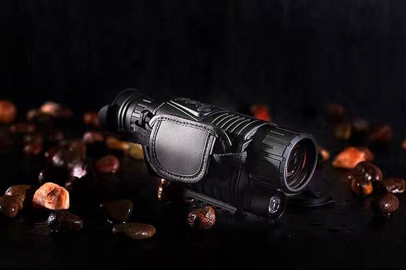5 x 40 Infrared Night Vision Telescope Military Tactical Monocular Powerful HD Digital Vision Monocular Telescope High Quality 5